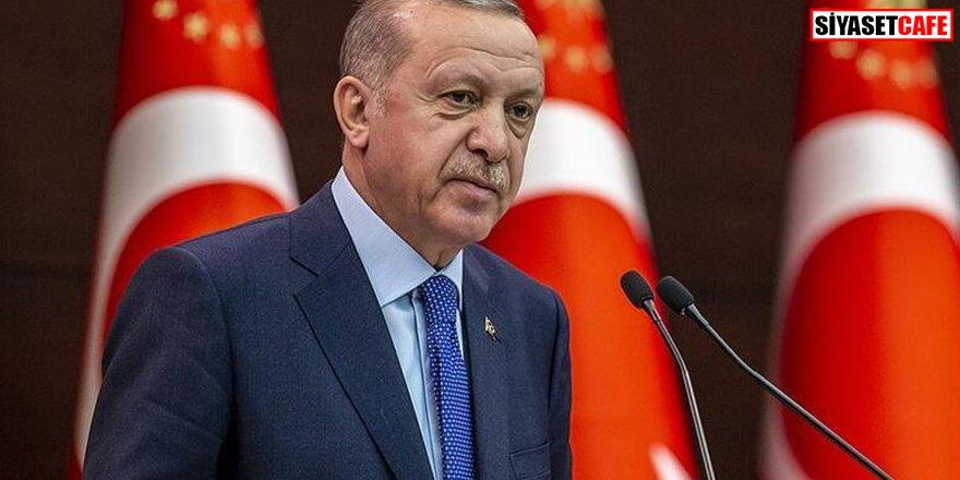Cumhurbaşkanı Erdoğan'dan Papa'ya  mesaj