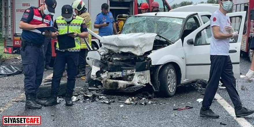 Bursa'da facia gibi kaza: 4 ölü, 3 yaralı