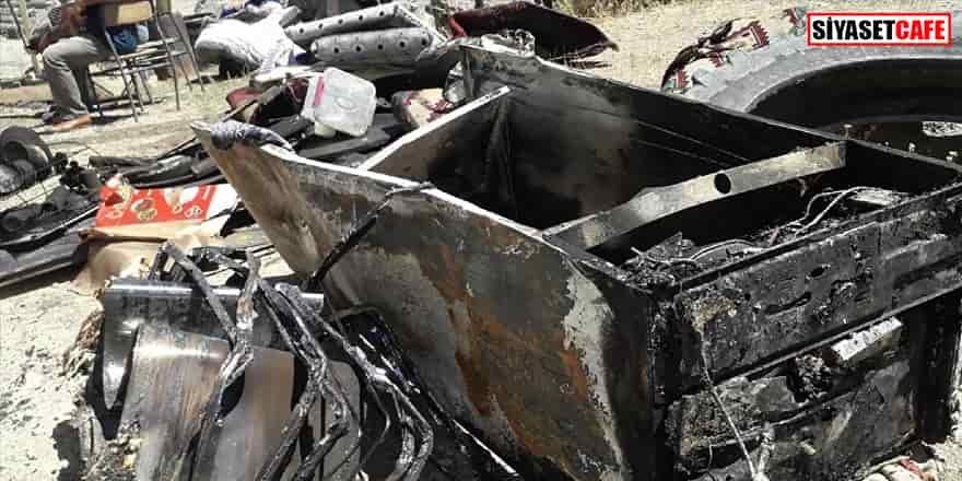 Muş'ta korkutan olay: Buzdolabı patladı