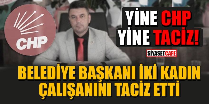 CHP'li Belediye Başkanı'nataciz suçlamasıyla gözaltı!