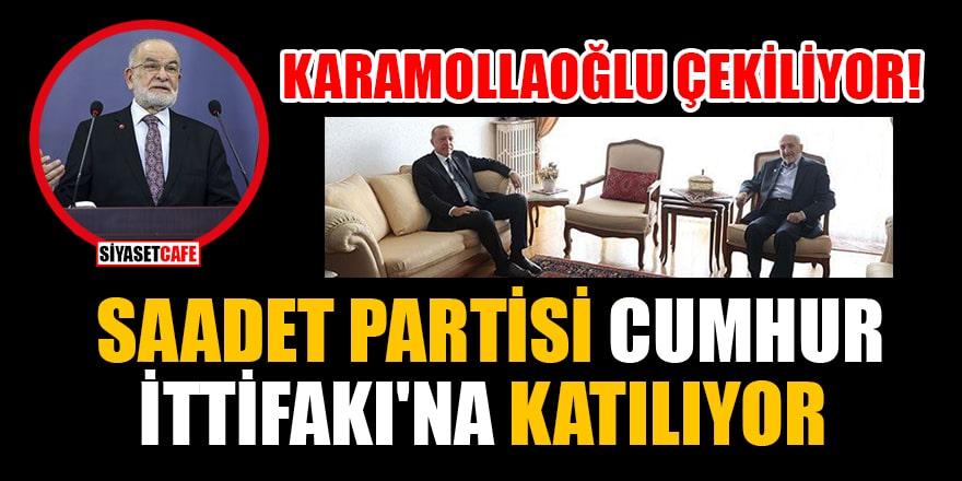 Ankara kulislerini sarsan iddia: Karamollaoğlu çekiliyor, Saadet Partisi Cumhur İttifakı'na katılıyor