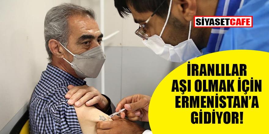 İranlılar koronavirüs aşısı olmak için Ermenistan'a gidiyor