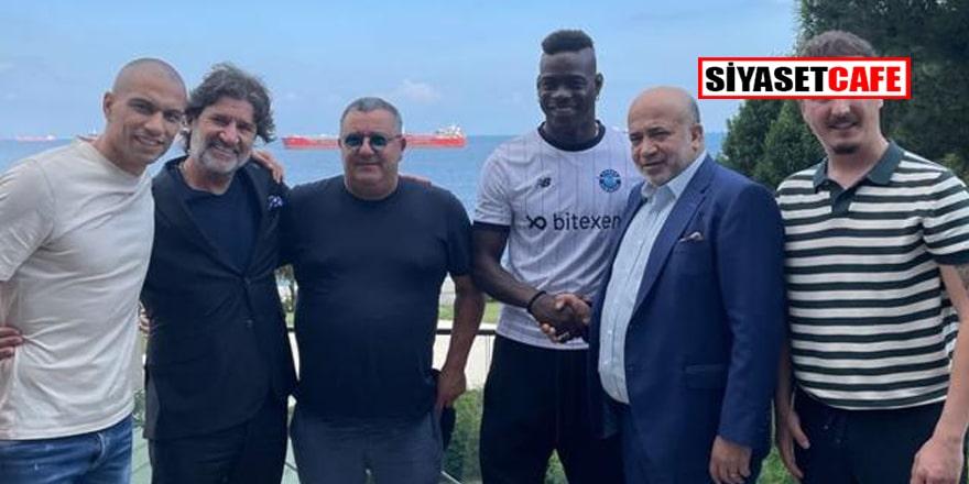 Adana Demirspor'un yeni transferi Mario Balotelli İstanbul'da