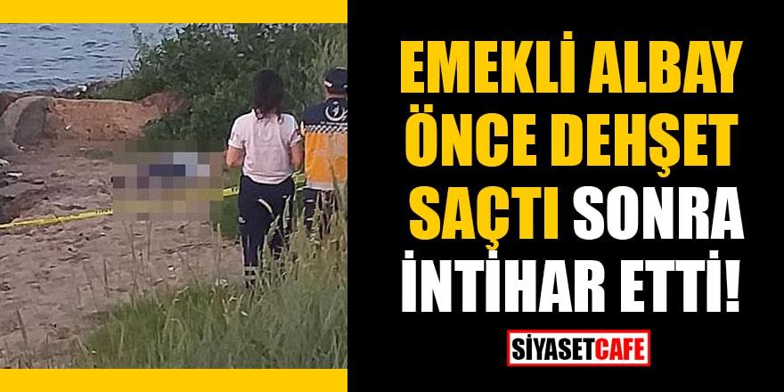 Yalova'da emekli albay önce dehşet saçtı sonra intihar etti!