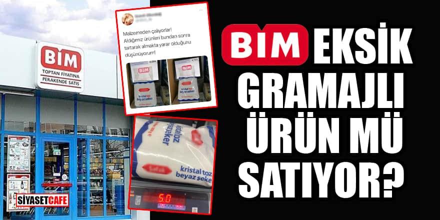 BİM'den 'eksik gramajlı ürün satıyor' iddialarına açıklama geldi!
