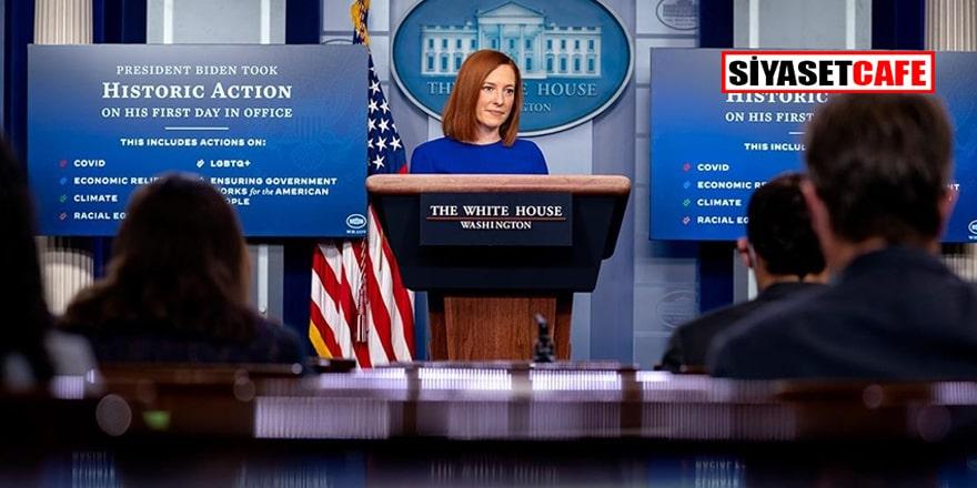 Beyaz Saray Sözcüsü Jen Psaki'den Afganistan işgali itirafı