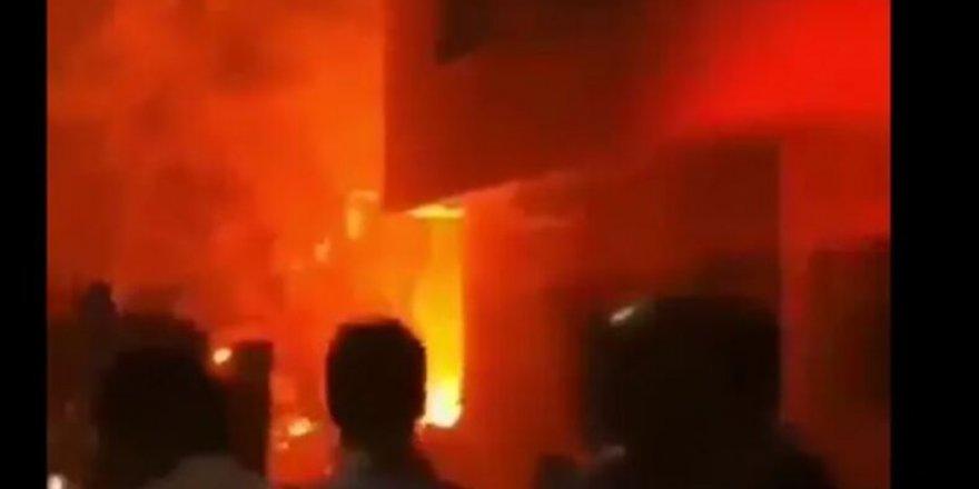 Son dakika: Tahran'da büyük patlama