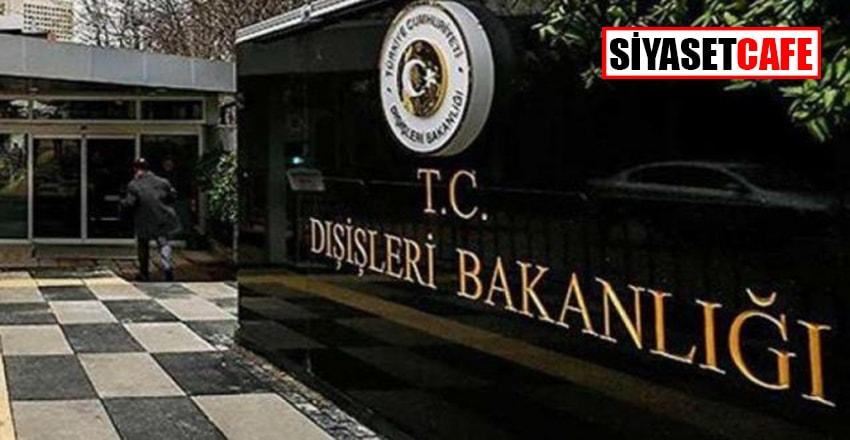 Dışişleri Bakanlığı: Yunanistan'ı Türk azınlığınhaklarını teslim etmeye çağırıyoruz