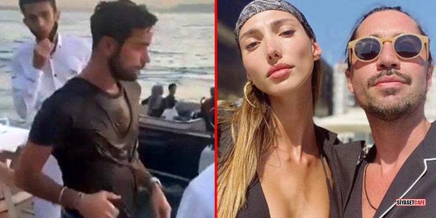 Marcus Aral'ın denize attığı Kerem Kamışlı özel koruma tuttu!