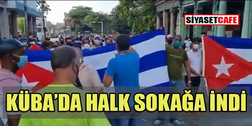 Küba'daki gösterilere ABD'den destek!