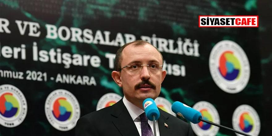 Ticaret Bakanı Muş'tan 'cari açık' açıklaması