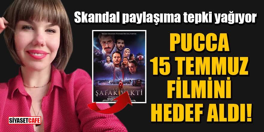 Pucca, 15 Temmuz filmini hedef aldı! Skandal paylaşıma tepki yağıyor