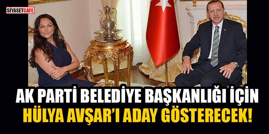 Hülya Avşar'ın AK Parti'den Belediye Başkan adayı olacağı iddia edildi!