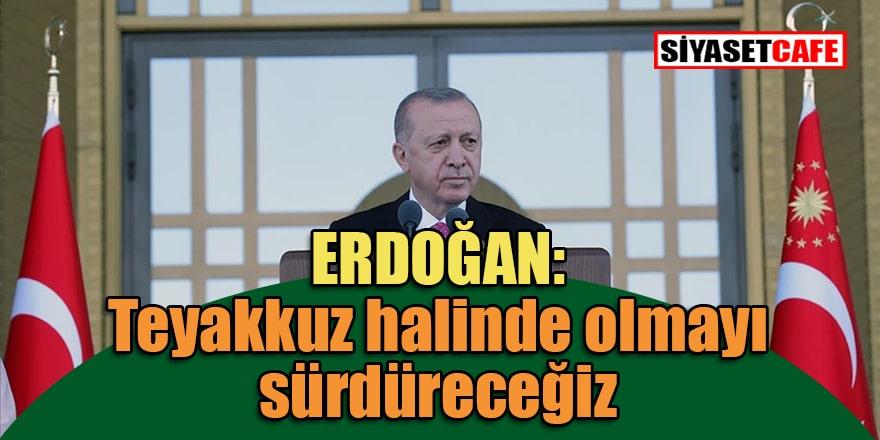 Cumhurbaşkanı Erdoğan 15 Temmuz Demokrasi ve Milli Birlik Günü'nde vatandaşlara konuştu
