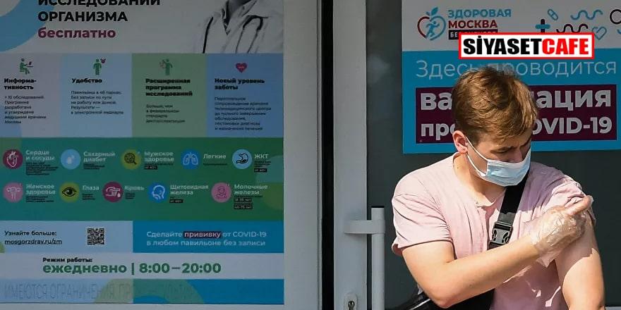 Rusya'da üç gündür koronavirüsten rekor sayıda can kaybı