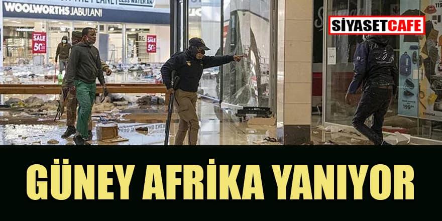 Güney Afrika'daki olaylarda ölenlerin sayısı artıyor
