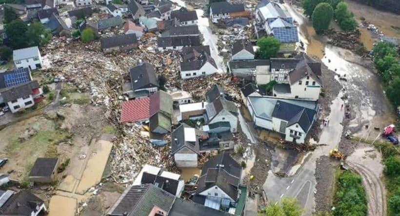 Almanya'da tarihin en büyük felaketi: 59 kişi öldü, onlarca kayıp var