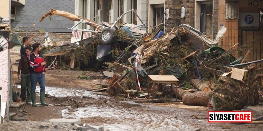 Almanya'daki sel felaketinde ölü sayısı 103'e yükseldi