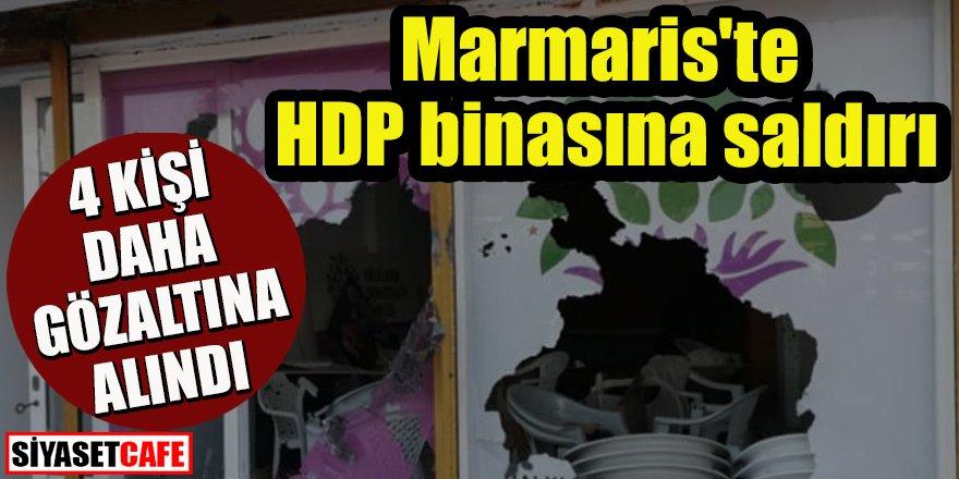 HDP binasına saldırı: 4 kişi daha gözaltına alındı