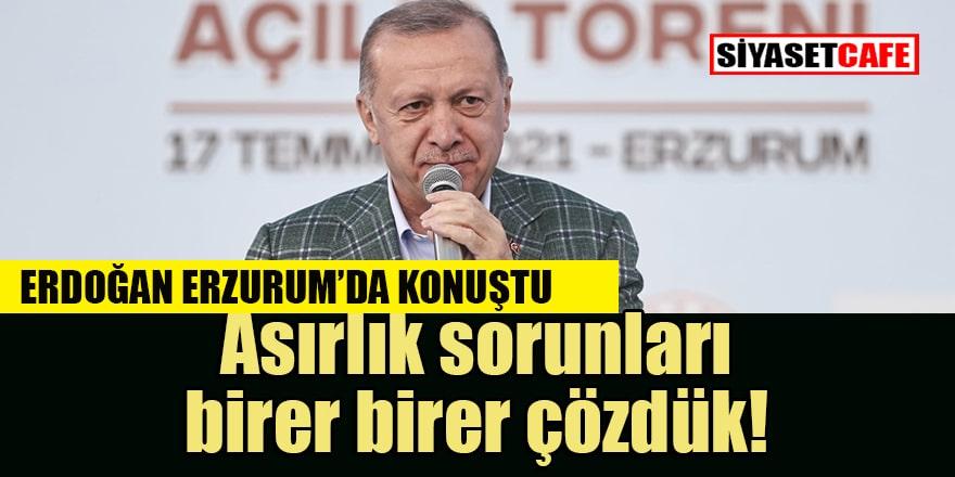 Erdoğan Erzurumlu Emrah'ın 'Dedim Dedi' şiirini okudu