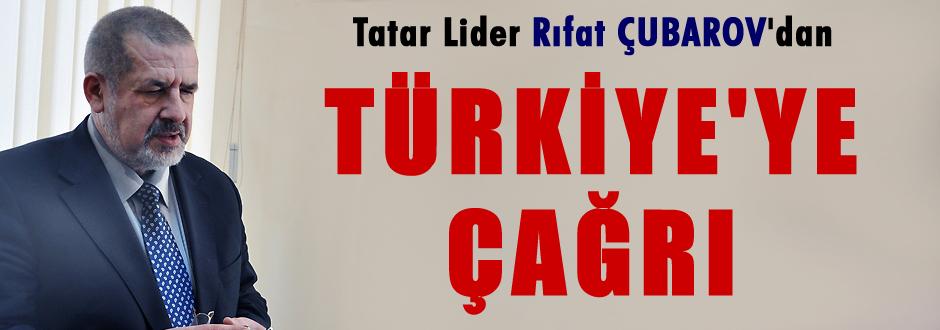 Rıfat Çubarov'den  Türkiye'ye çağrı