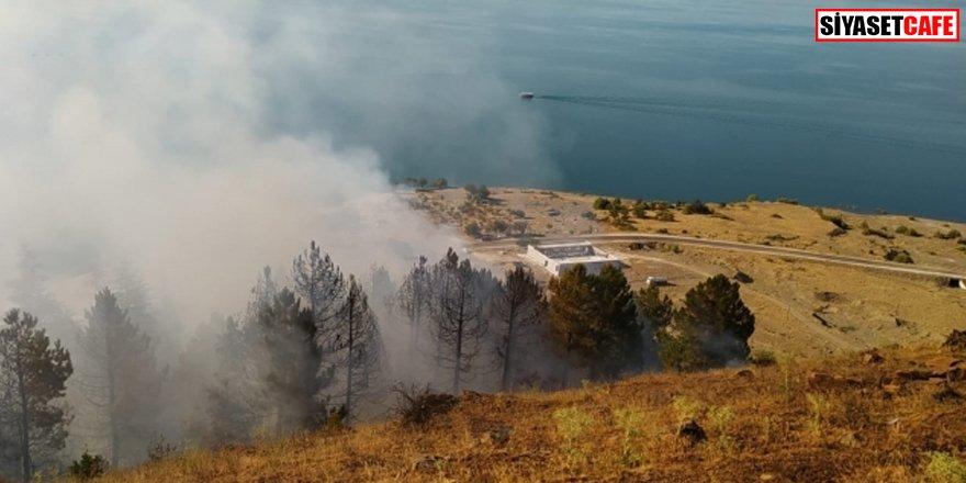 Elazığ'da orman yangını: 5 hektarlık alan zarar gördü