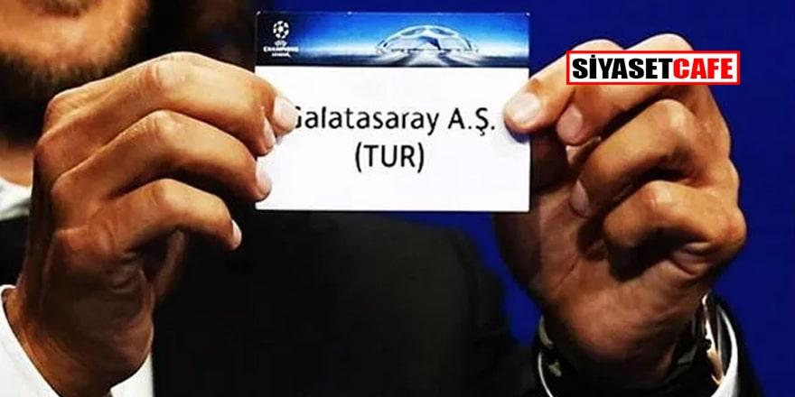 Galatasaray'ın Şampiyonlar Ligi'ndeki olası rakibi belli oldu