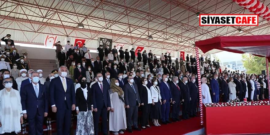İYİ Parti heyeti protokolü beğenmedi Kıbrıs'taki töreni terk etti