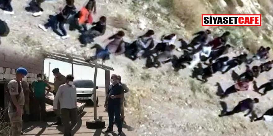Van'da arazide 113 kaçak göçmen daha yakalandı