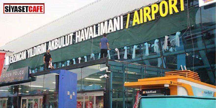 Erzincan Havalimanı'nın ismi değişti!