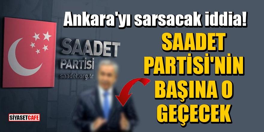 'Saadet Partisi'nin başına Bülent Arınç geçecek' iddiası!