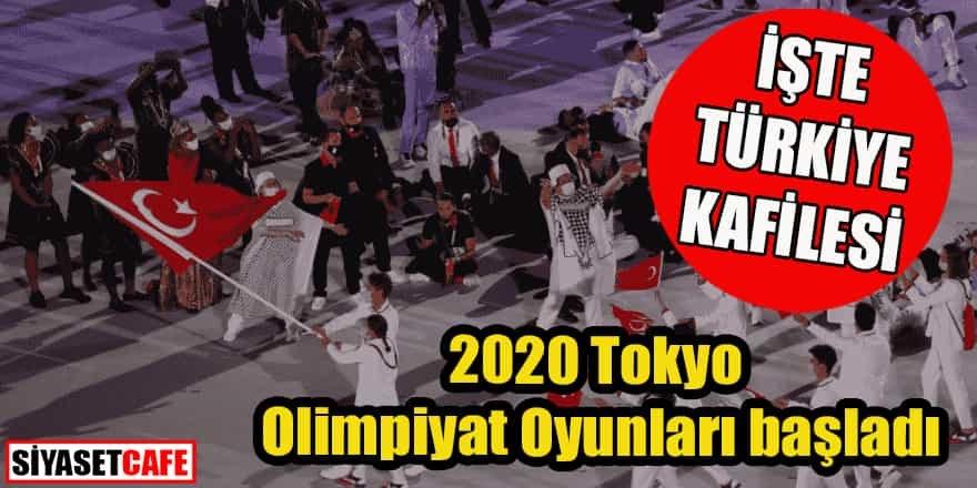 2020 Tokyo Olimpiyat Oyunları başladı: İşte Türkiye kafilesi
