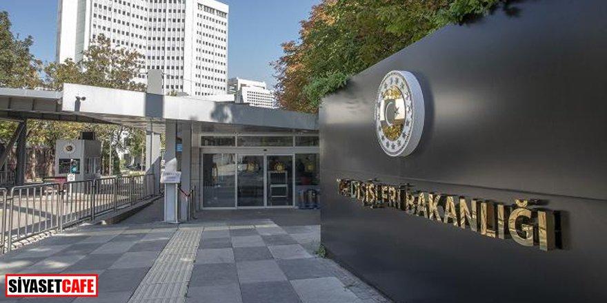 Dışişleri Bakanlığı'ndan BMGK'ye 'Maraş' tepkisi