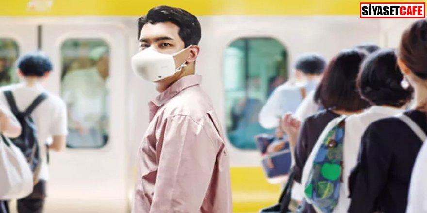 Son teknoloji: Bu maskenin hoparlörü var!