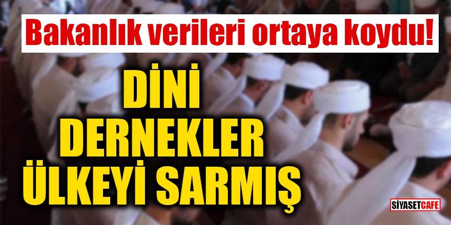 Bakanlık verileri ortaya koydu: Türkiye'de her 3 dernekten biri 'dini amaçlı' kurulmuş