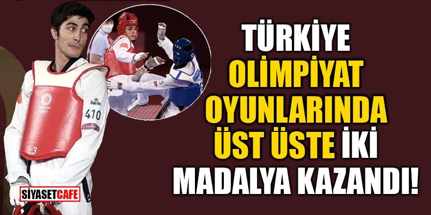 Türkiye, Tokyo Olimpiyat Oyunları'nda üst üste iki madalya kazandı