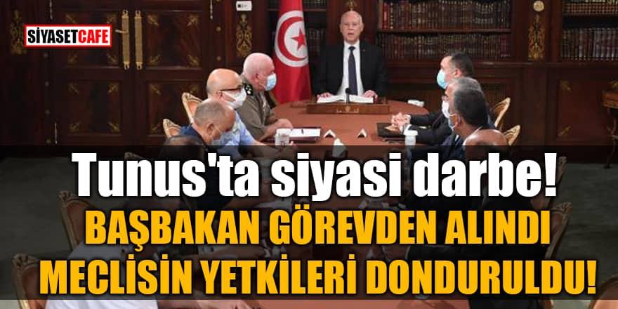 Tunus'ta siyasi darbe! Başbakan görevden alındı, meclisin yetkileri donduruldu