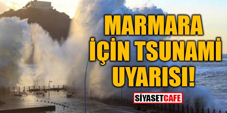 Meclis'in deprem raporunda Marmara için tsunami uyarısı!