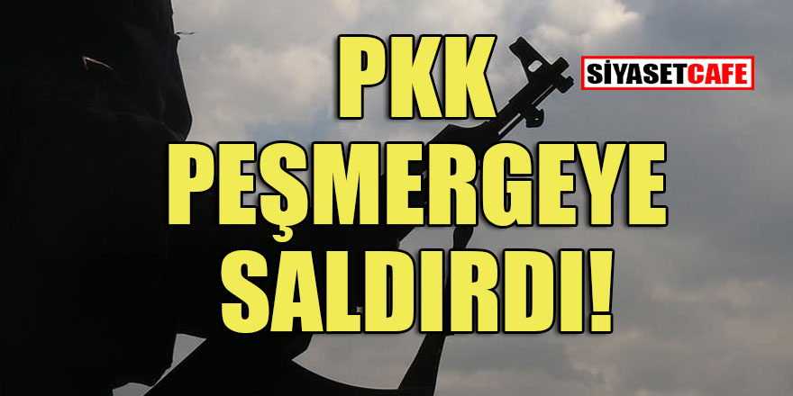 PKK Erbil'de Peşmerge güçlerine saldırdı!