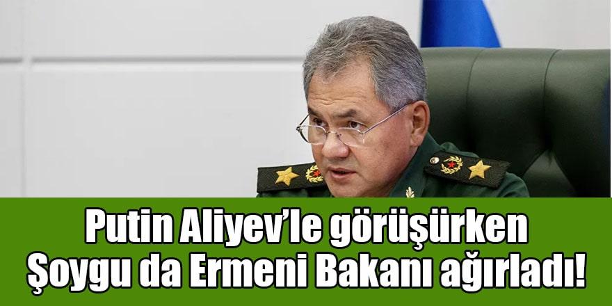 Rusya Savunma Bakanı Şoygu yeni Ermeni Savunma Bakanıyla görüştü!
