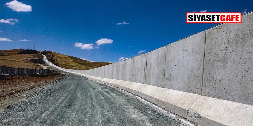 Van'ın İran sınırındaki modüler duvar son teknolojiyle donatılacak