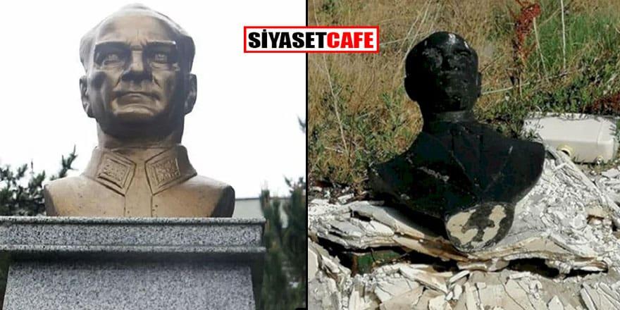 Kaymakamlıktan Atatürk büstünün çöpe atılıp yakılmasına ilişkin açıklama
