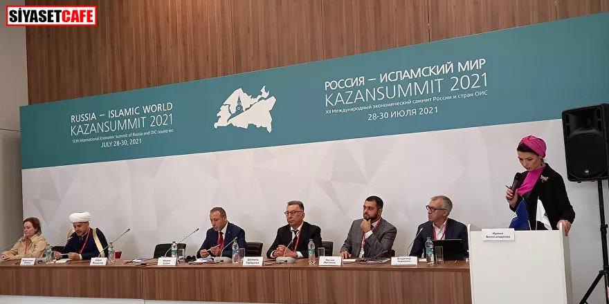 Türkiye'nin de katıldığı Kazan Zirvesi başladı
