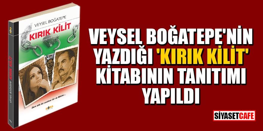 Veysel Boğatepe'nin yazdığı 'Kırık Kilit' kitabının tanıtımı yapıldı