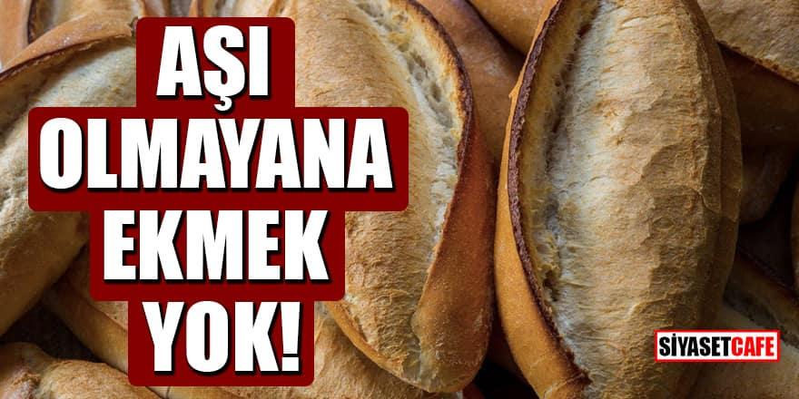 Ekmek Üreticileri İşverenleri Sendikası Genel Başkanı Cihan Kolivar'dan ilginç öneri: Aşı olmayana ekmek yok