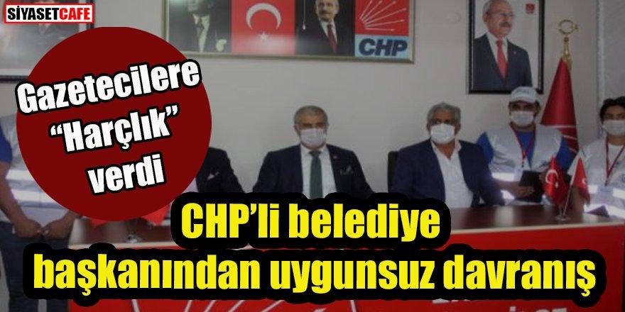 CHP'li belediye başkanından uygunsuz davranış