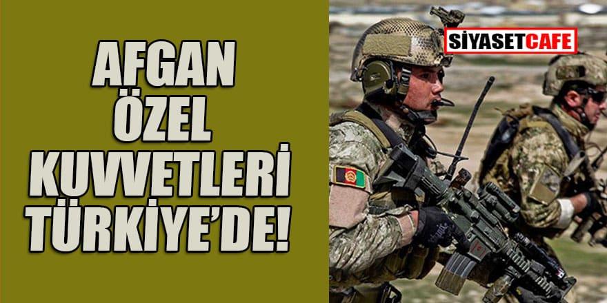 Ünlü Alman gazetesi duyurdu: Afgan Özel Kuvvetleri Türkiye'de!