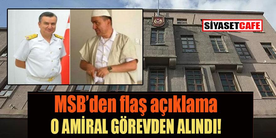 Tarikatta görüntülenmişti: Tuğamiral Mehmet Sarı görevden alındı