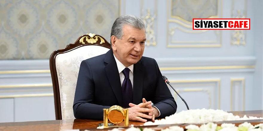Özbekistan lideri yeni bakır fabrikasının temelini attı