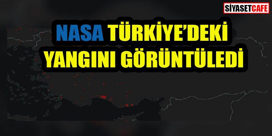 Türkiye yanıyor: NASA tarafından görüntülendi